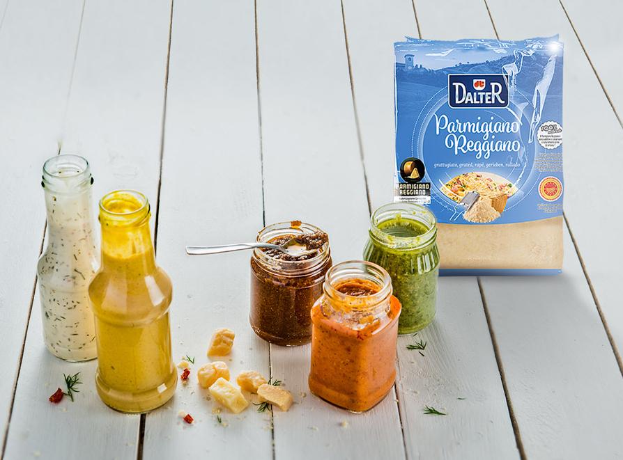 Volete esaltare il sapore dei vostri prodotti?  Il segreto è il Parmigiano Reggiano
